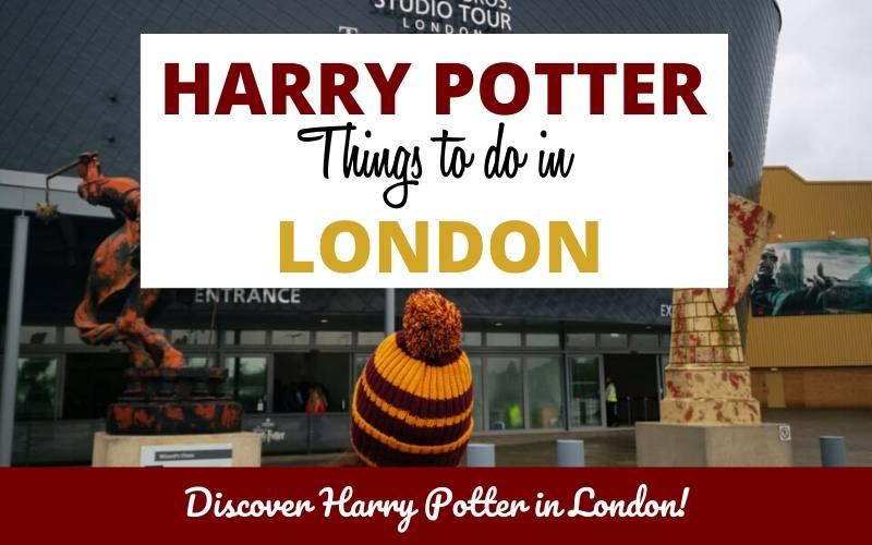 harry potter in london guide