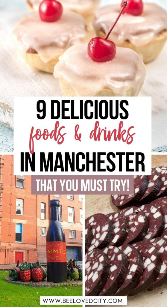 Delicious Manchester foods and drinks