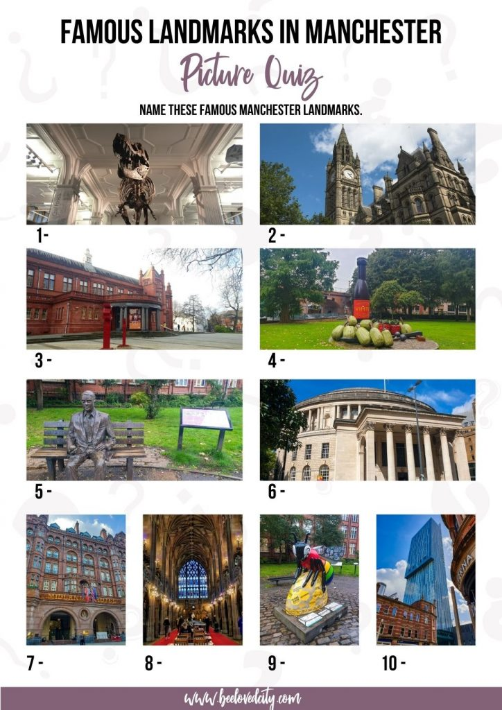 Manchester Picture Quiz