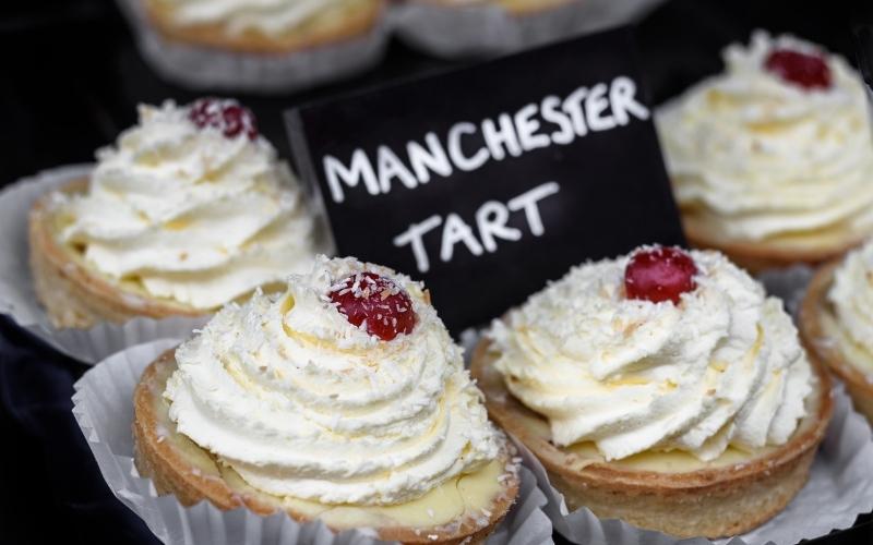 Delicious Manchester tart