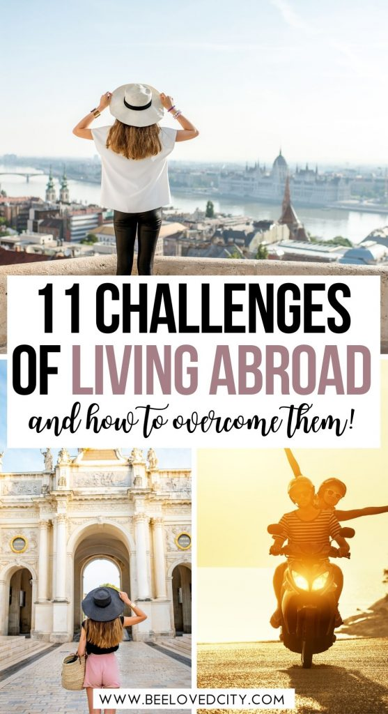Challenges of living abroad for expat