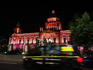 history of Belfast and Belfast City hall