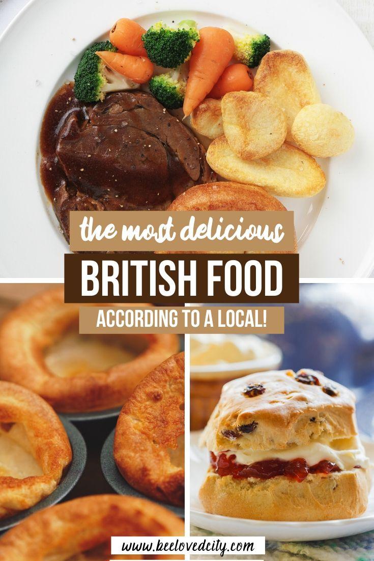 delicious british food