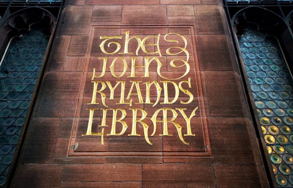 manchester john ryland library