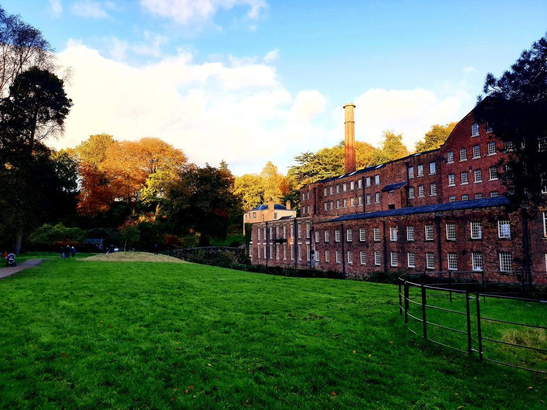 national trust near Manchester quarry bank mill in wilmslow