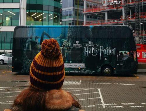 shuttle to Harry Potter studios in London