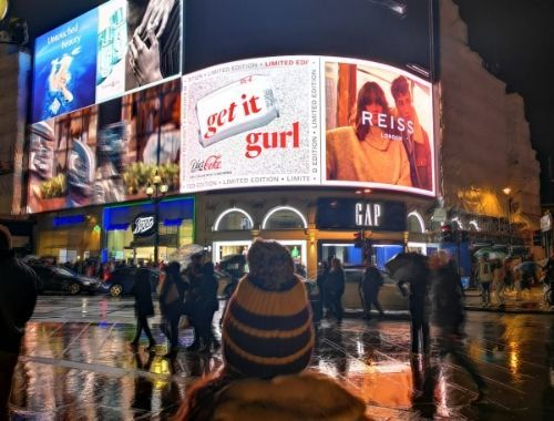 Piccadilly Circus London Harry Potter filming location