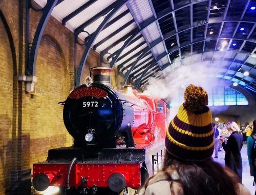 Hogwarts Express Harry Potter studio