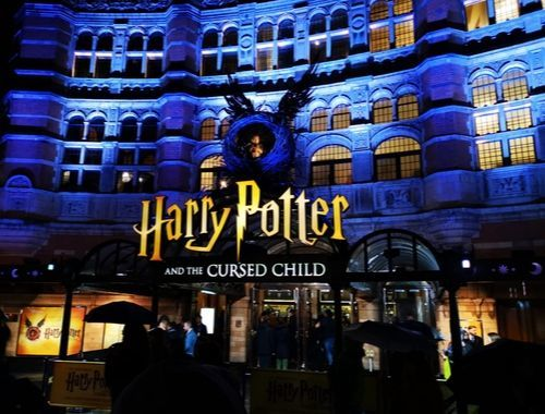 west end London play Harry Potter