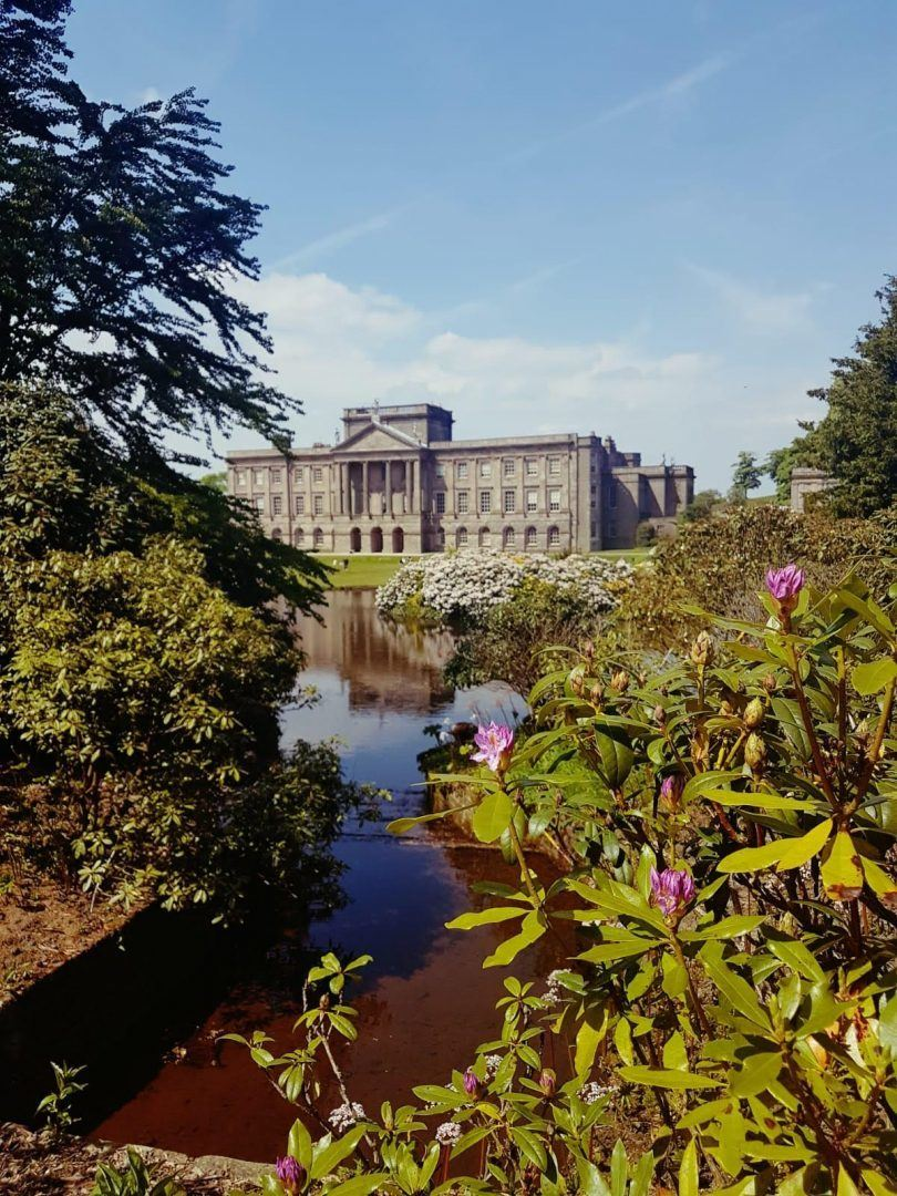 national trust Lyme Park mansion and gardens