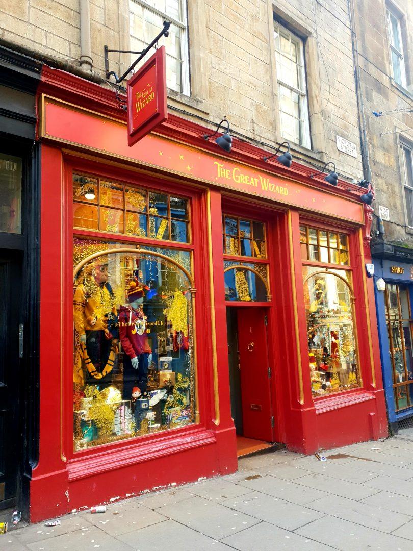 Harry Potter Edinburgh shop