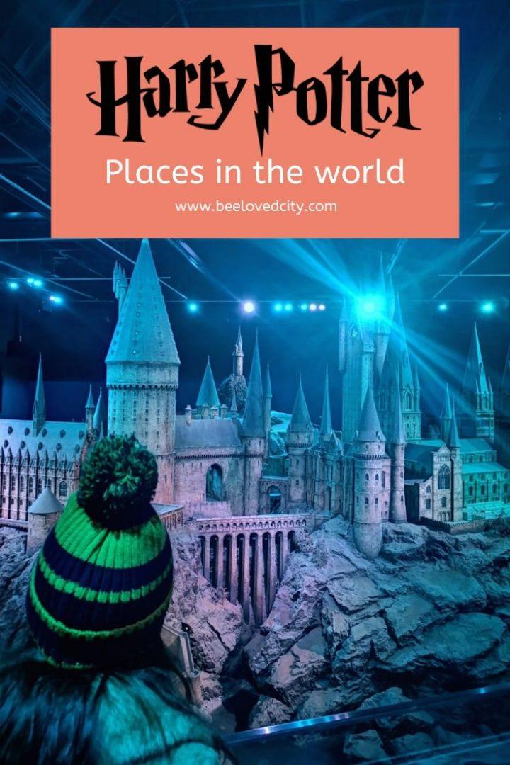 Harry Potter around the world travel