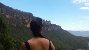 3 sisters lookout in blue mountains
