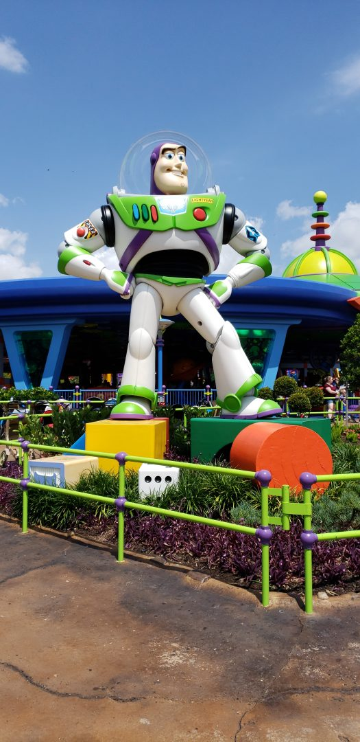 buzzlightyear Tomorrowland magic kingdom Orlando