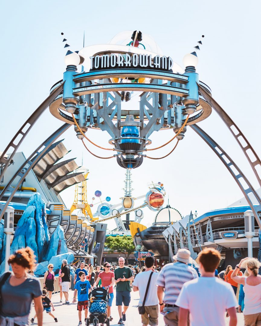 Tomorrowland magic kingdom Florida