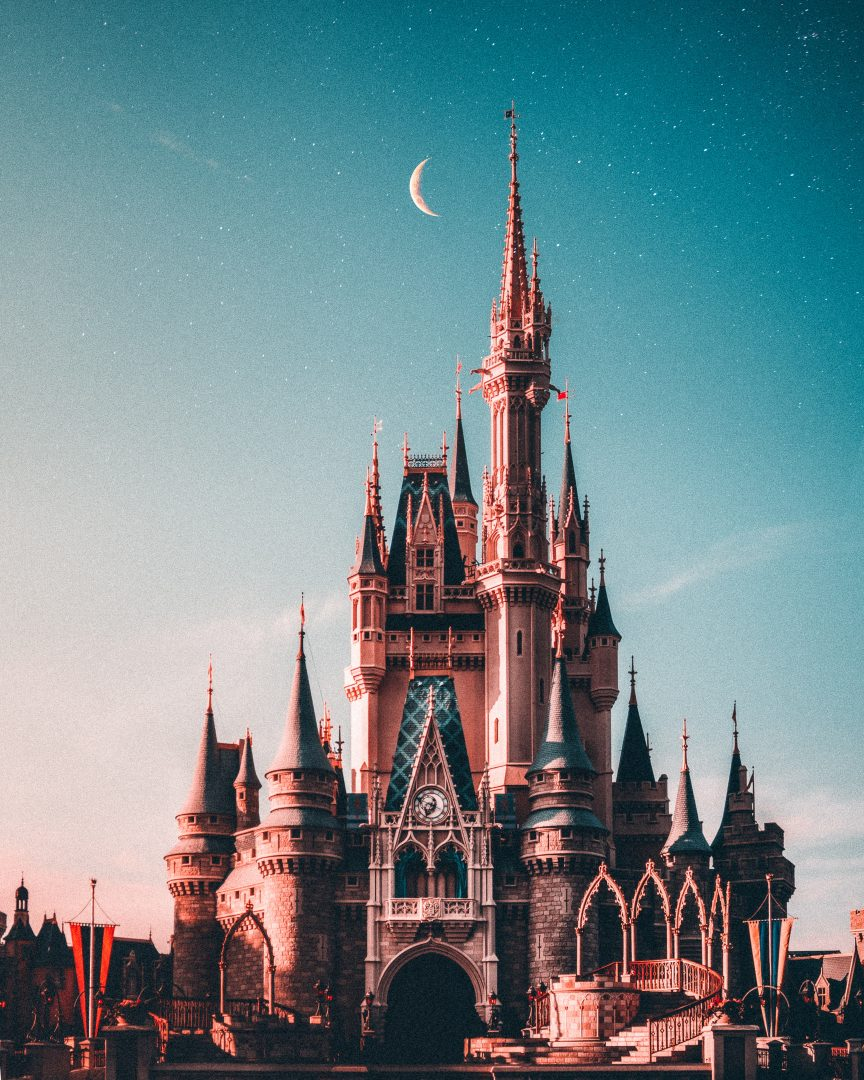 fairy tale castle magic kingdom Disney World Orlando