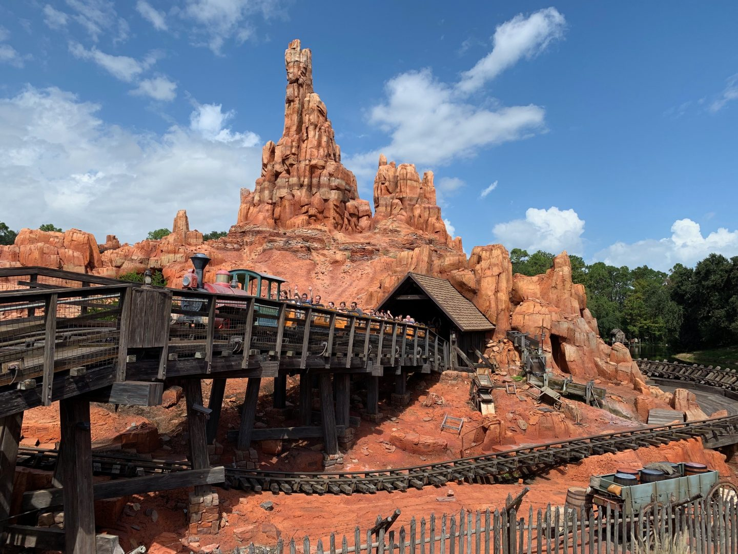 big thunder magic kingdom Orlando