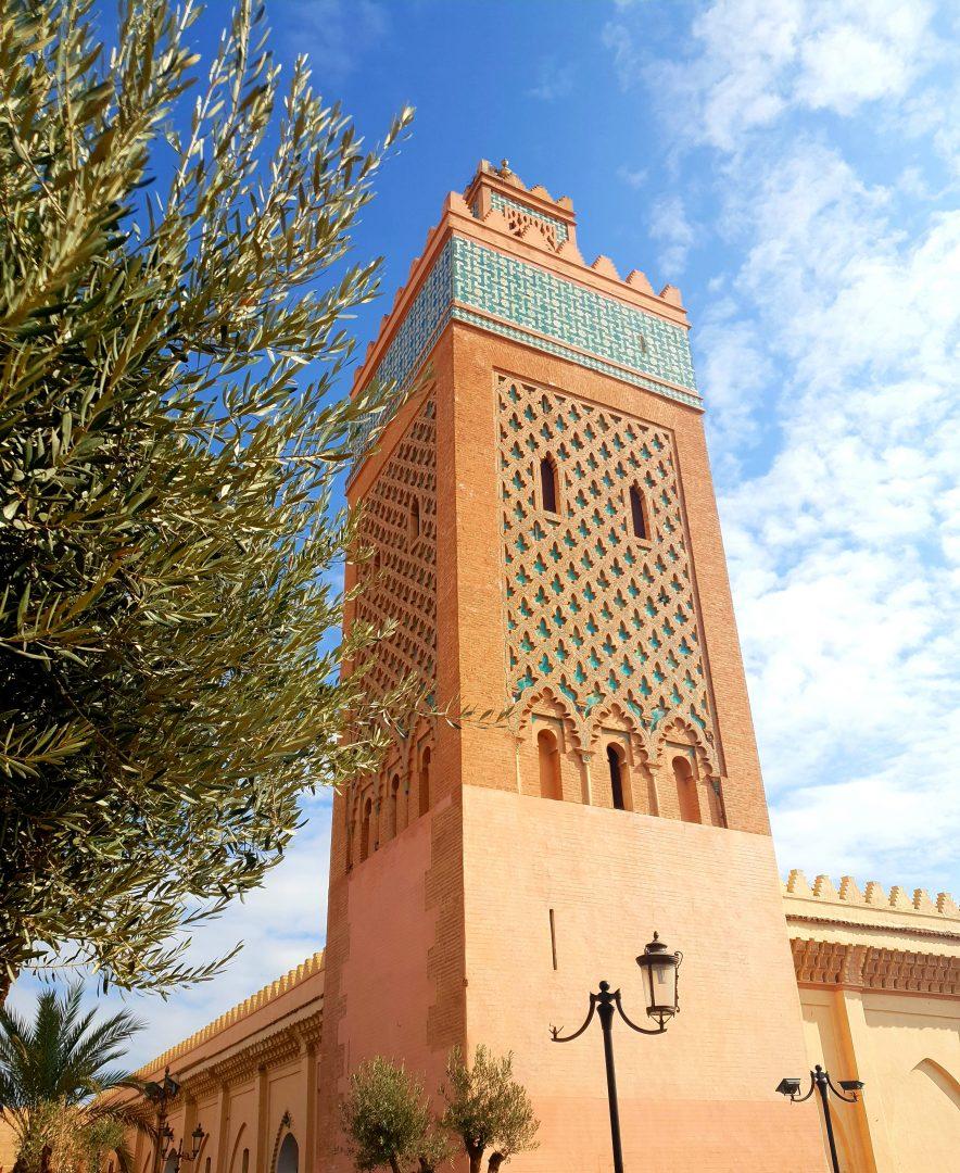 sadirons tombs in marrakech