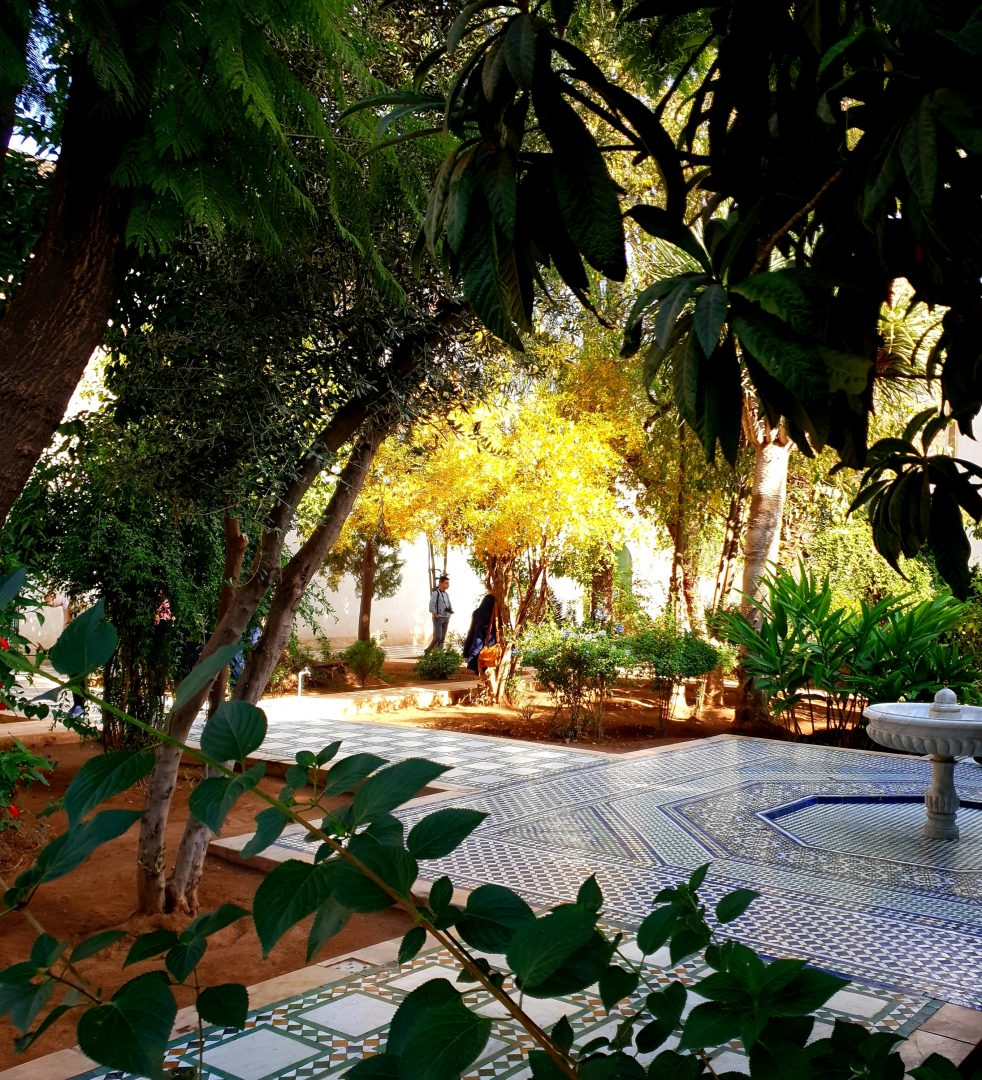 gardens of the Bahia Palace