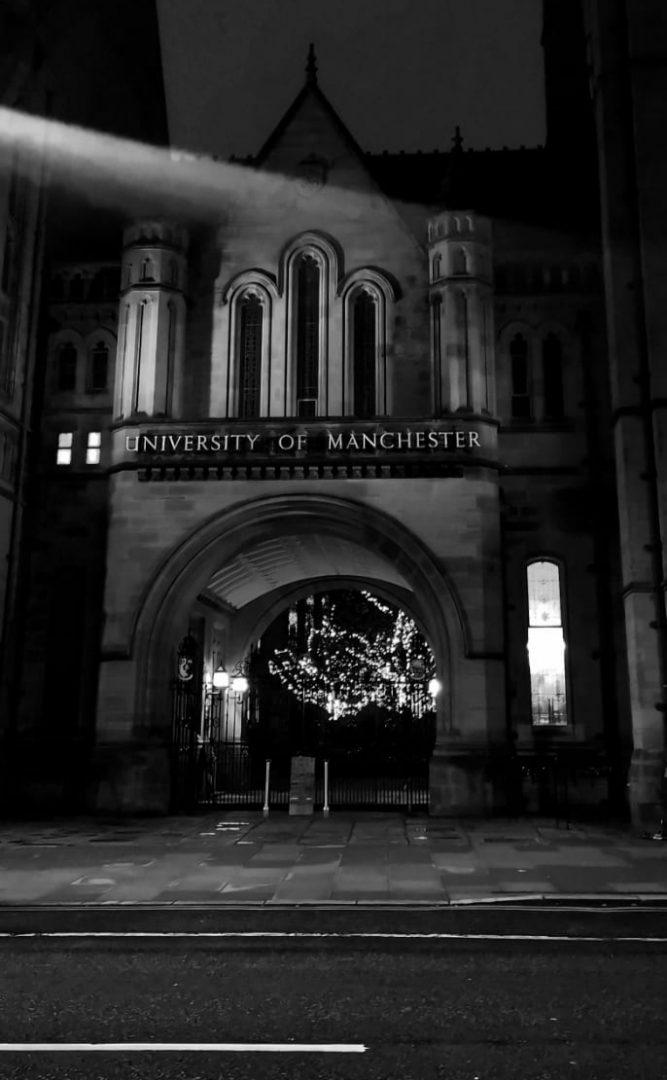 Oxford road Manchester uni
