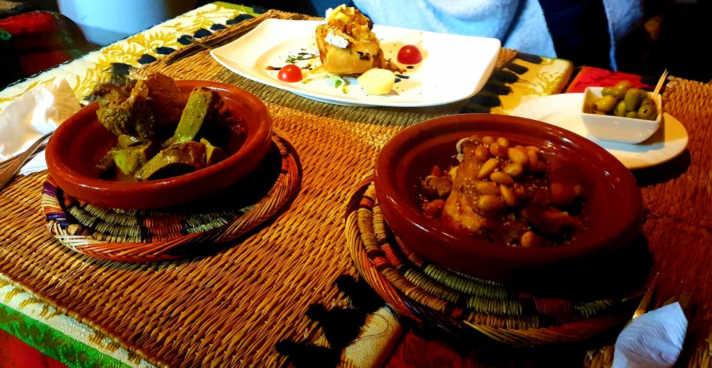 tagine pastilla and tanja in marrakech
