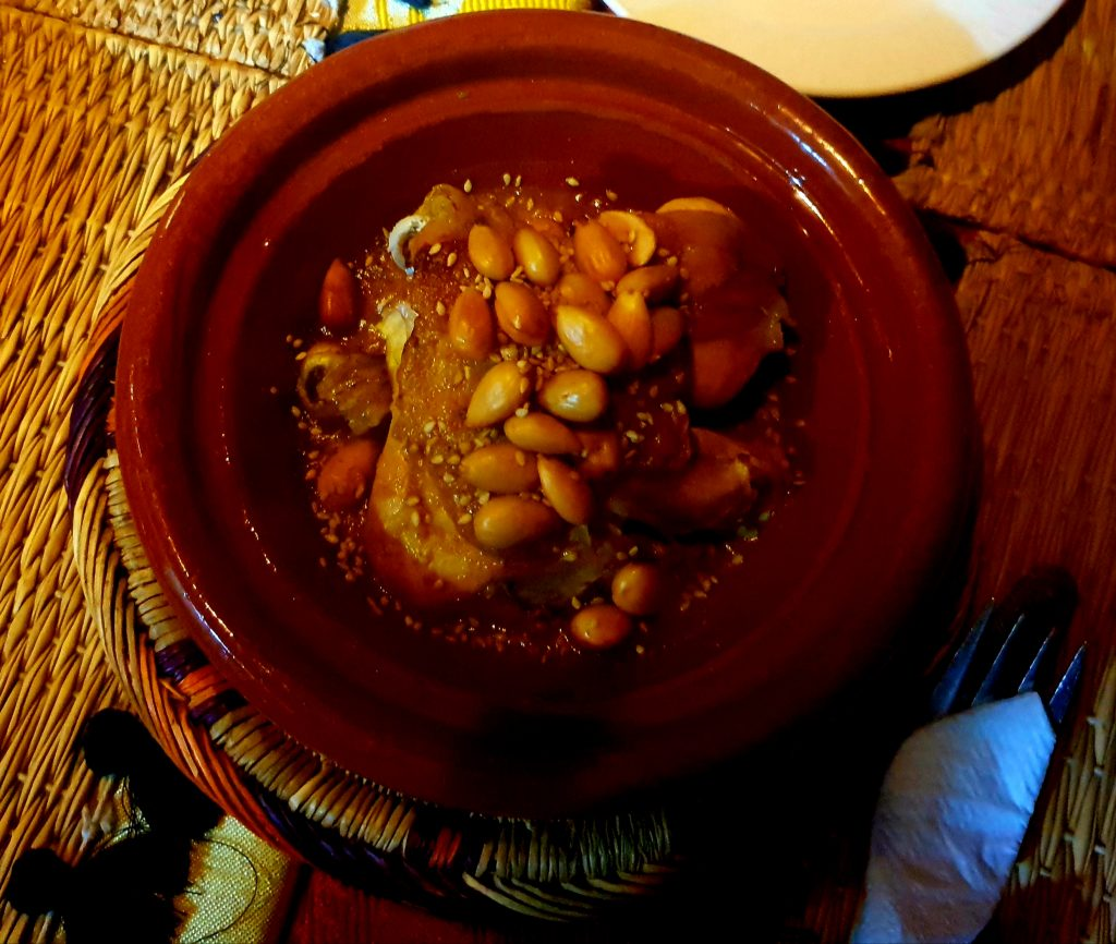 marrakech tagine chicken almond