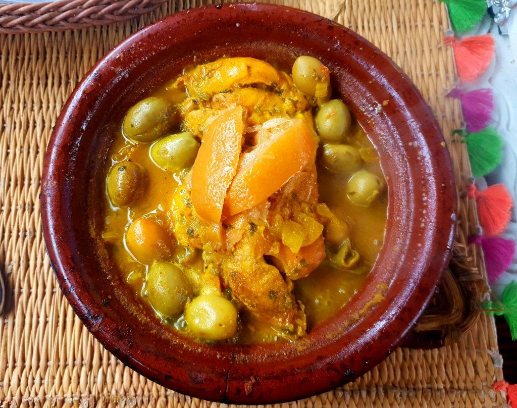 marrakech tagine chicken olives