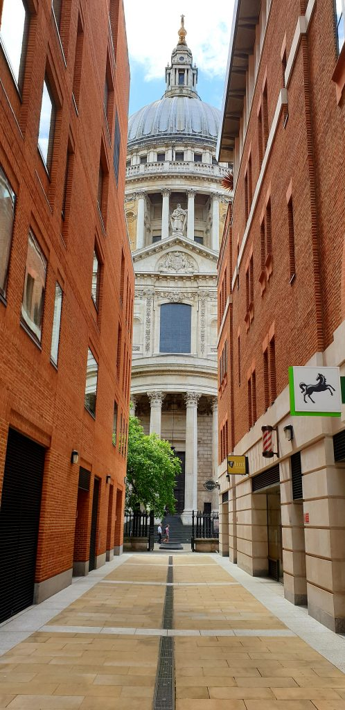 st Paul cathedral city of London