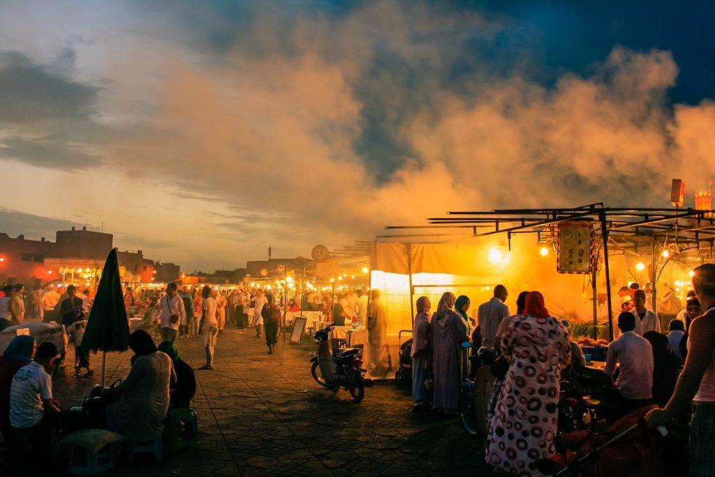 marrakech main square Jemaa el fan