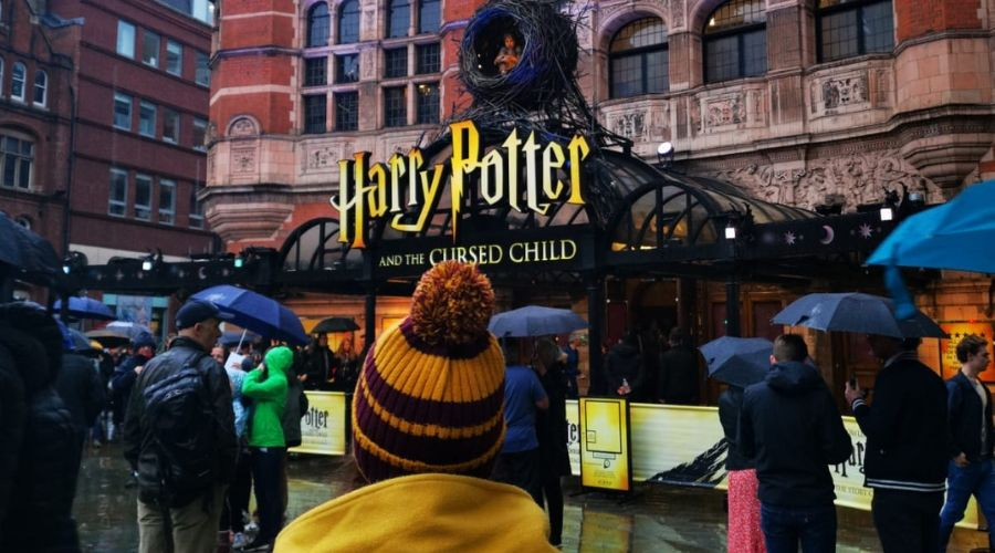 west end play London Harry Potter