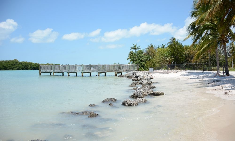 Sombrero Beach in florida keys