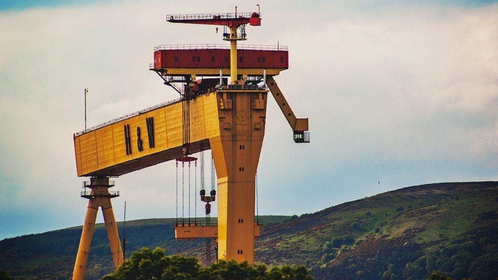 h&w cranes Belfast