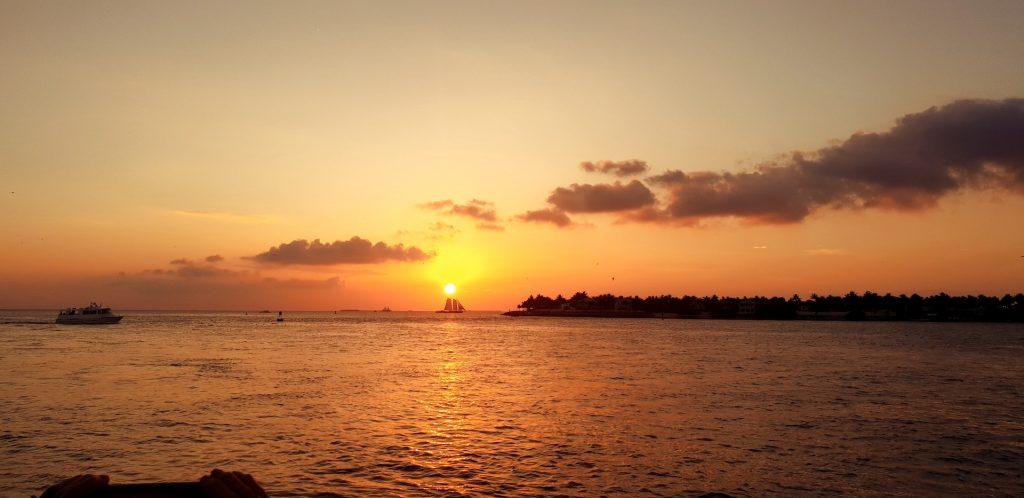 sunset mallory square