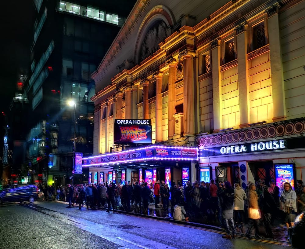 review back to the future musical manchester