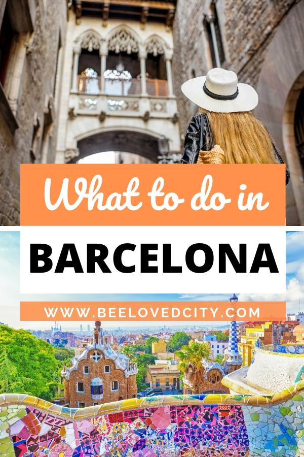 What do in barcelona