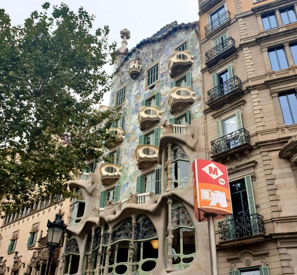 Casa Batlló in passeig de gracia