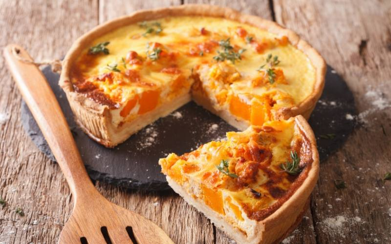 quiche french food