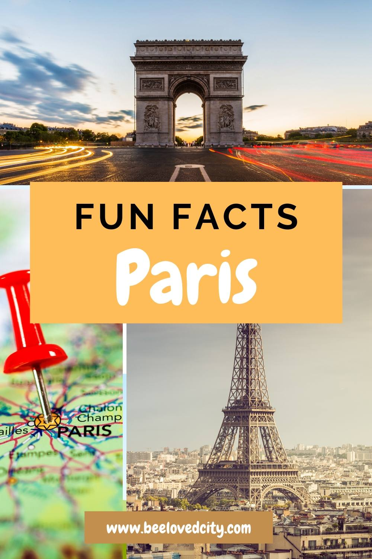 amazing facts about Paris