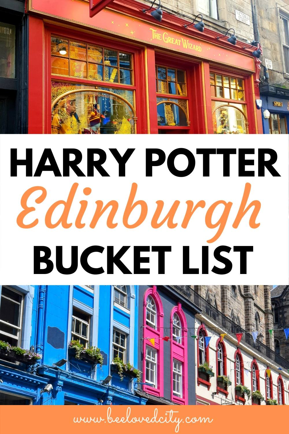 harry potter edinburgh