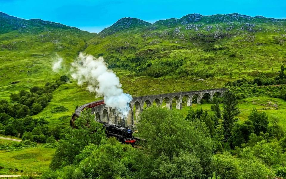 real life hogwarts express scotland