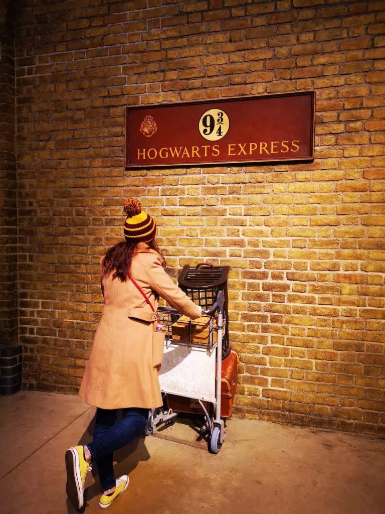 harry potter platform 9 3/4 London