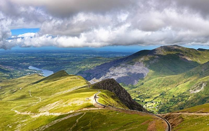 snowdon national parks wales