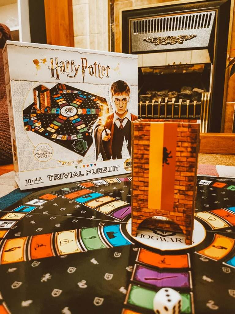 Playing Harry Potter Trivial Pursuit