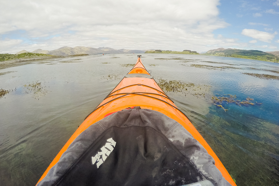 scotland sea kayaking oban
