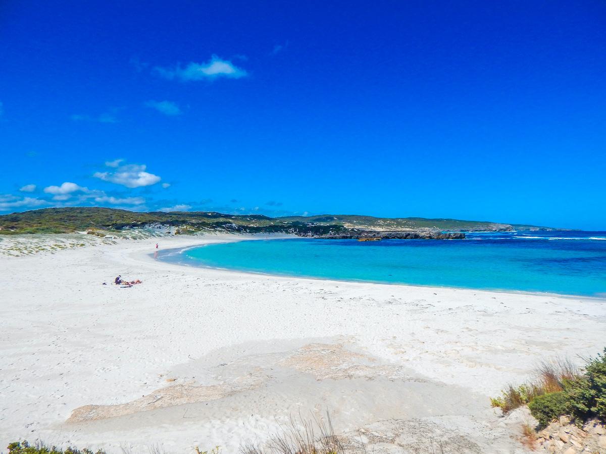 kangaroo island white beach hanson bay