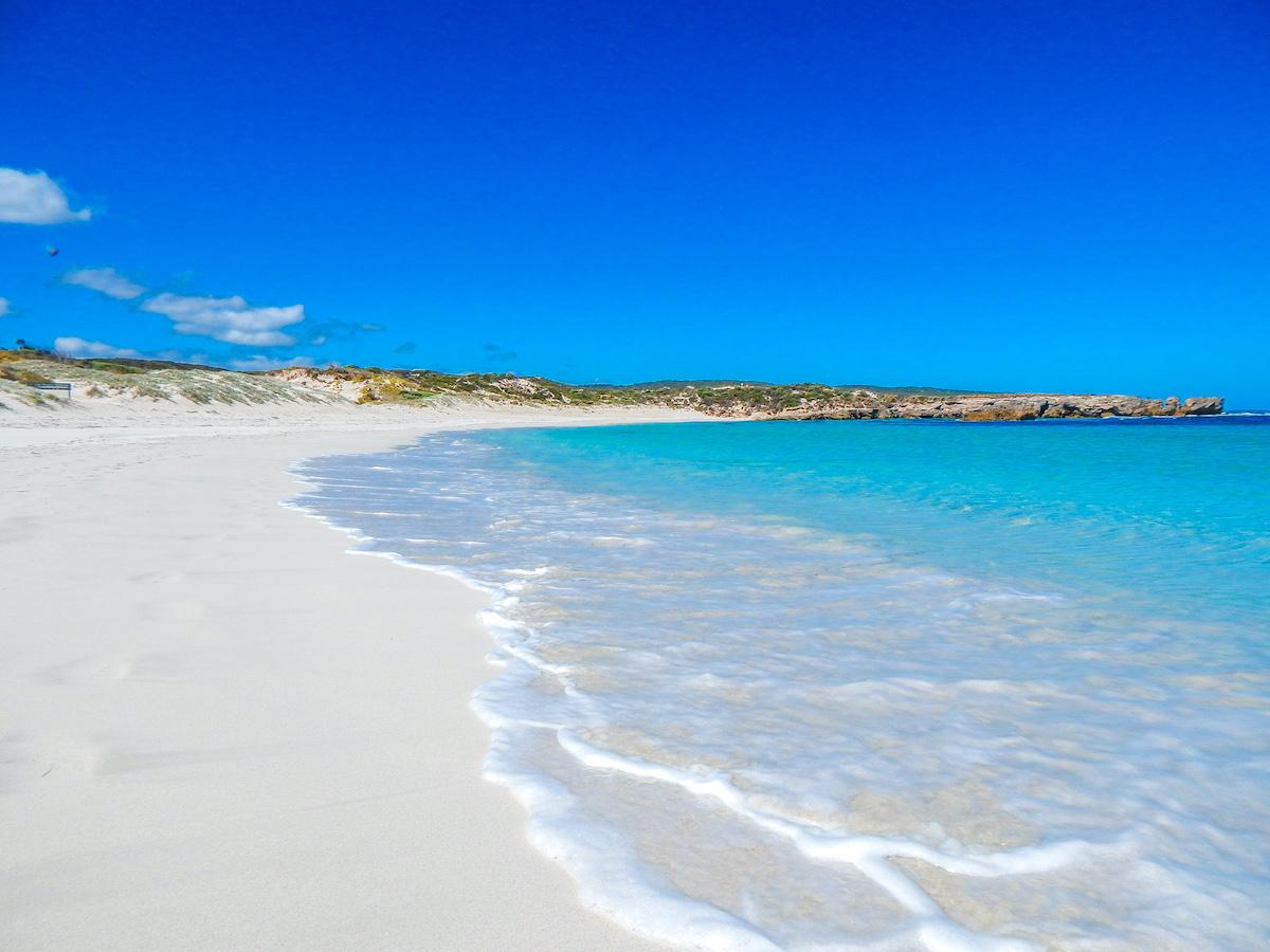 kangaroo island hanson bay beach