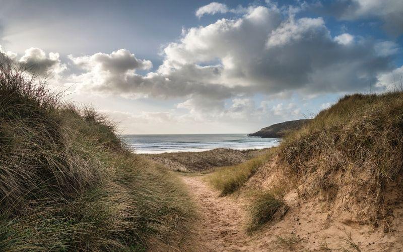 freshwater beach wales HP