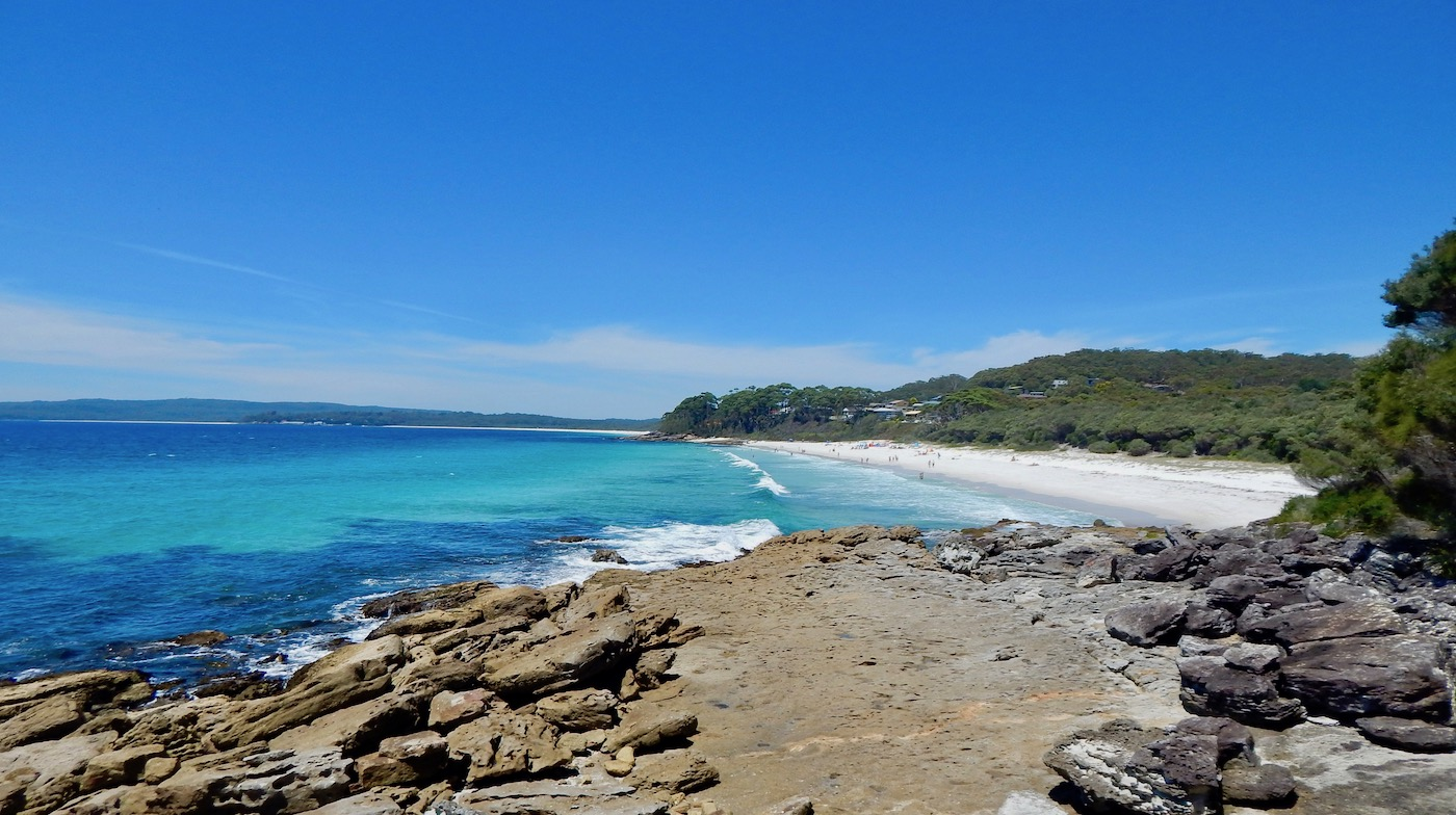 chinamans beach in jervis bay New south wales