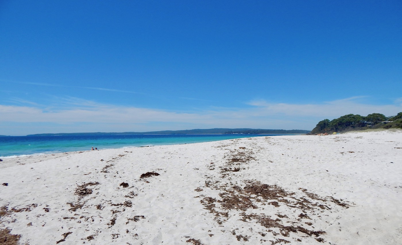 chinamans beach in jervis bay NSW