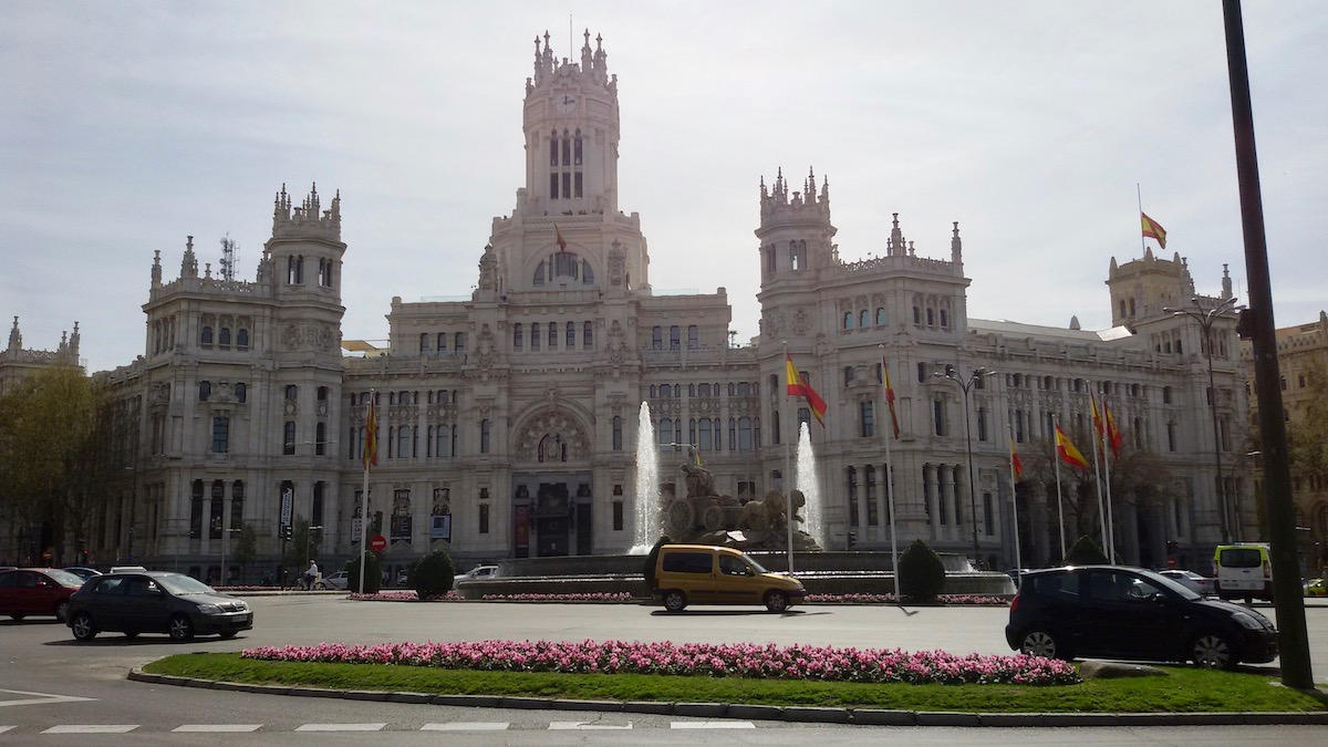 cybele palace in madrid